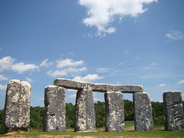Foamhenge: getting weird in Virginia