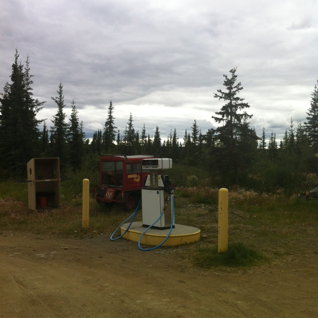 Chicken, Alaska: gas station