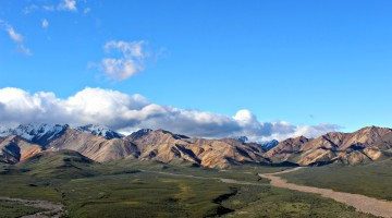 Denali National Park: the Alaska Range and tundra