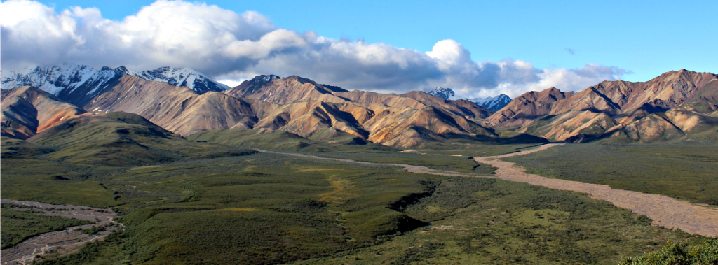 Denali National Park: Alaska Range and tundra